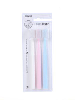 Brosse à dents minimalistes (pack de 3)